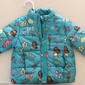 Disney's Moana Puffer Jacket